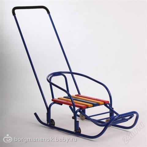 какие лучше санки на колесиках