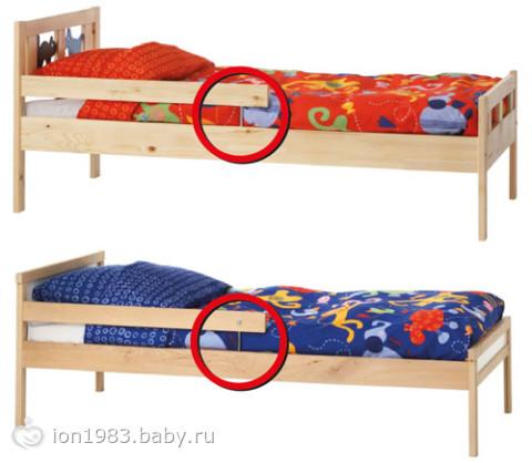Бортик для кровати 74
