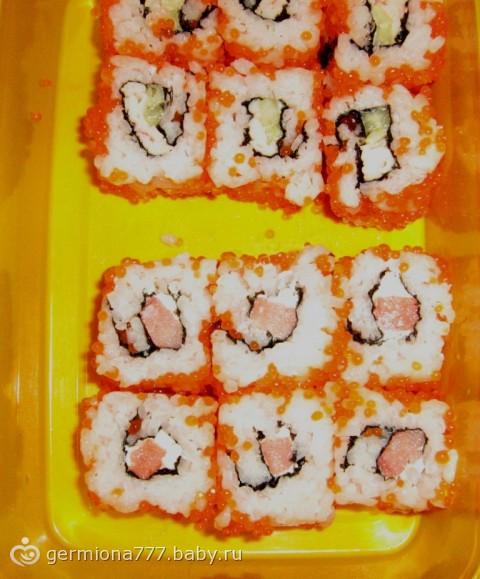 Суши дома своими руками видео фото 364