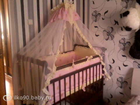 Наша кроватка)))))
