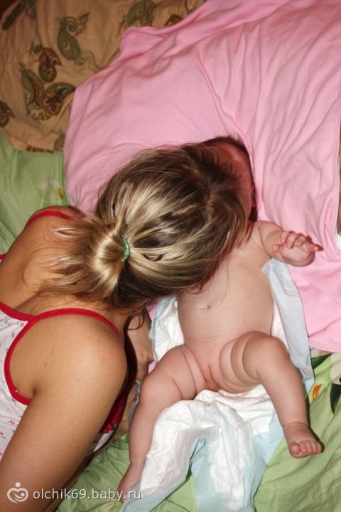 Малыши спящие порно