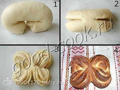 Как сделать плюшки из теста фото 720