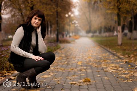 Осенняя фотосессия подруг