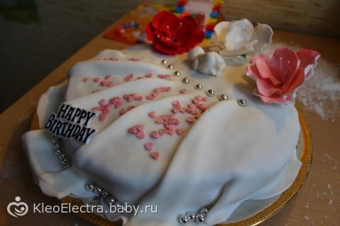 ПЕРВОЕ День рождение, часть 2-праздничный стол)))