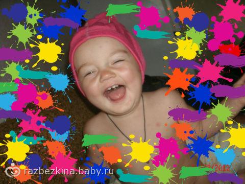 Позитив, каждый день!!! (Фото моей маленькой модельки)