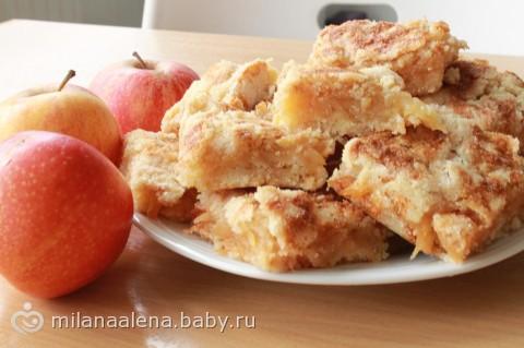 венгерский пирог с яблоками рецепт с фото