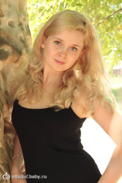 красивая фото блондинка
