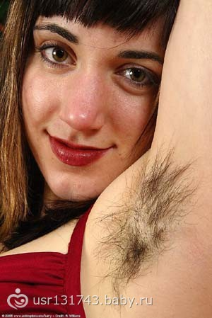 фото женская волосатость
