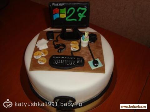 Торт для программиста фото