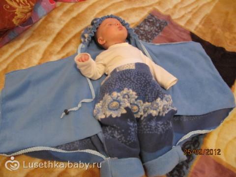 Одеяло на выписку своими руками из флиса 4