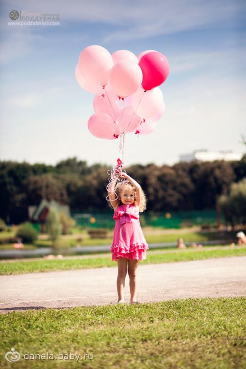 Фотосессия с шарами - идеи для проведения фотосессии с