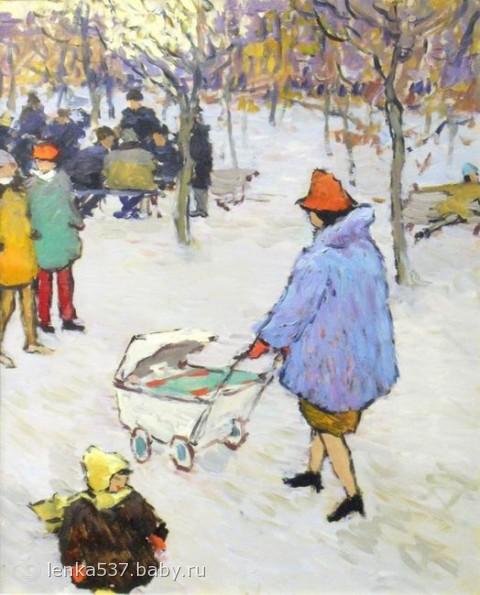 Обещанный пост о детских колясках времен ссср))
