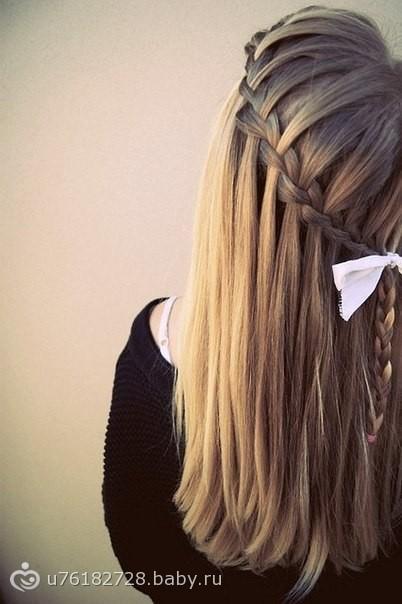 Плетение французской косы пошагово: как самой сделать 57