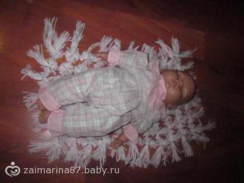 пробный вариант пледа)))