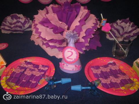 забрала растяжку колпак и таблички ко дню рождения)))