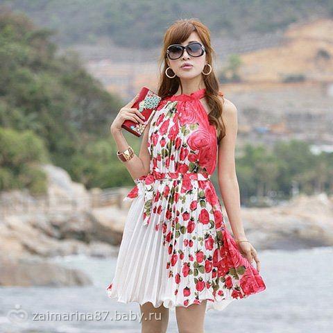 вам нравится такое платье?
