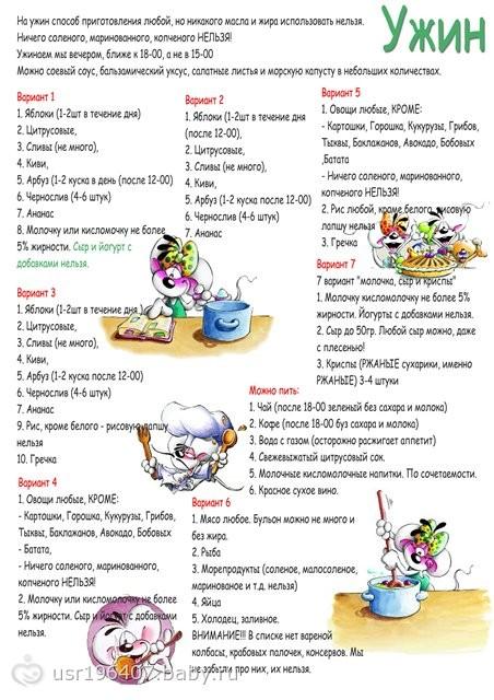 система минус 60 отзывы диетологов