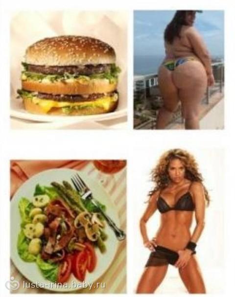 как похудеть и есть все подряд