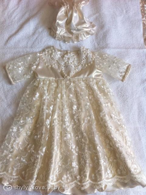 Фото платья для крещения