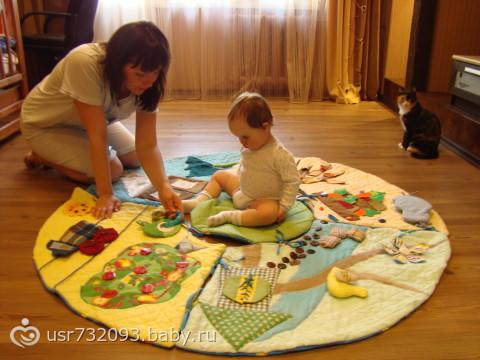 коврик развивающий своими руками фото