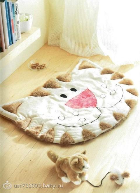 Детские мягкие коврики своими руками
