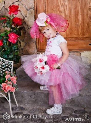 платья на годик дочки!